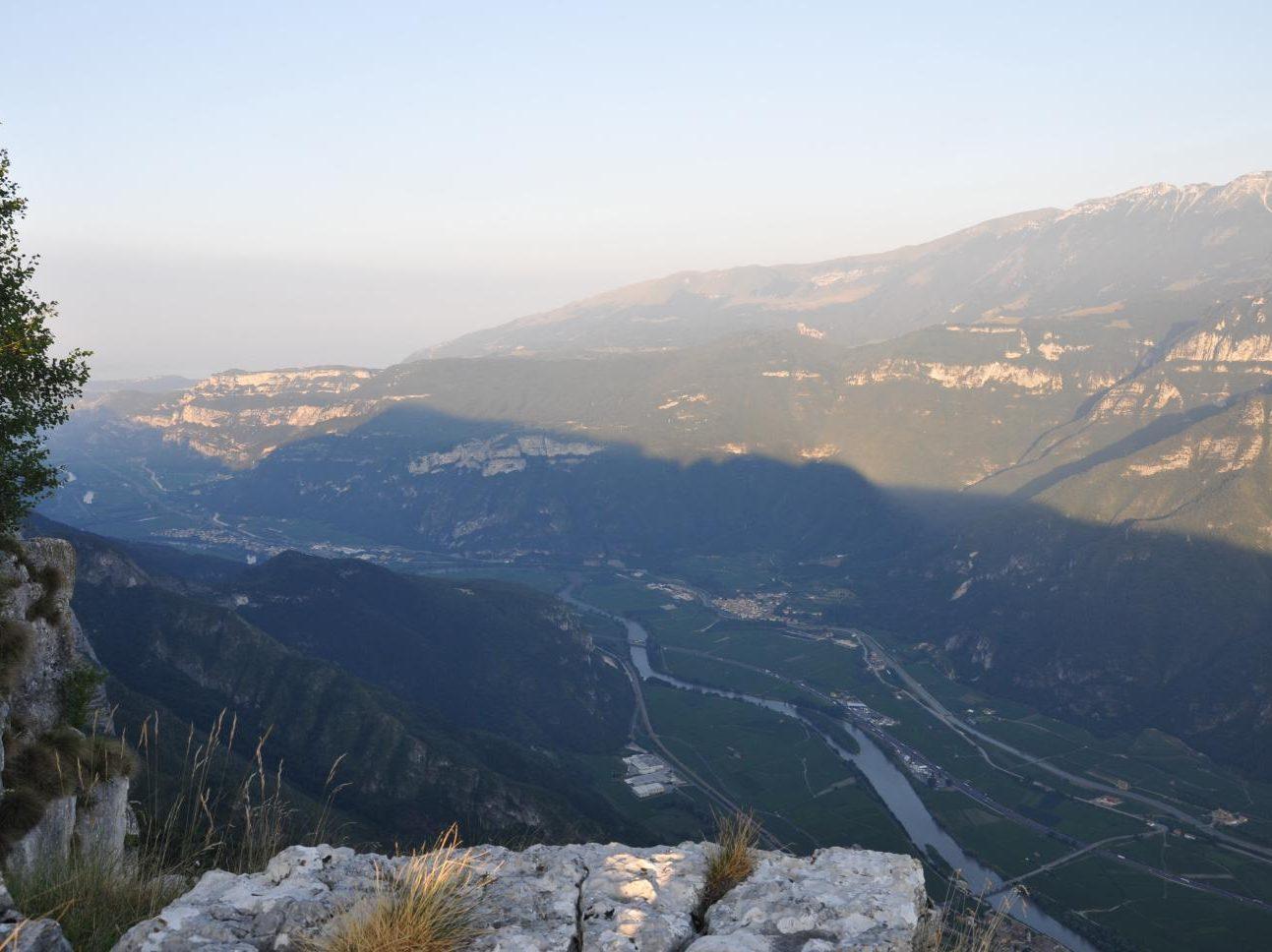 Campeggio Al Faggio - Panorama sulla Valle dell'Adige